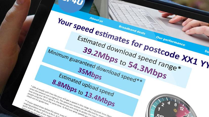 Ofcom ISP screen