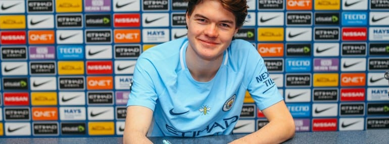 Manchester City New esports Player Marcus Jorgensen