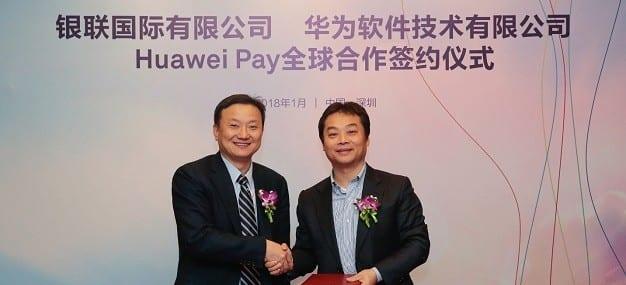 Huawei Handshake