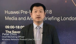 Huawei Peter Zhou MWC 2018