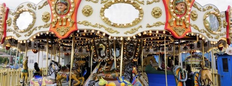 Carousel Merry Go Round Fun fair