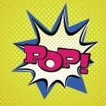 Pop Art Style Typography