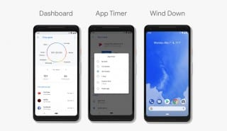 Android P screens