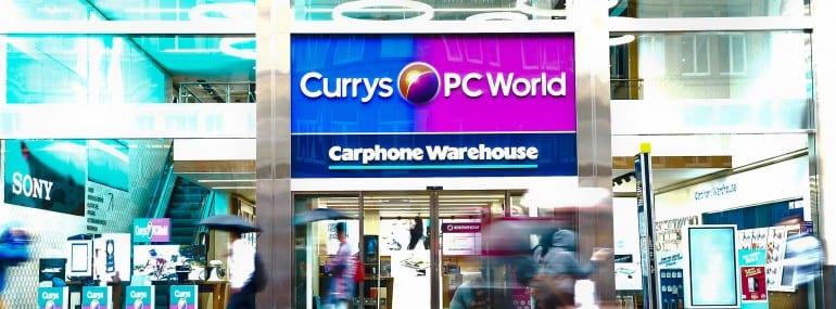 Dixons carphone store