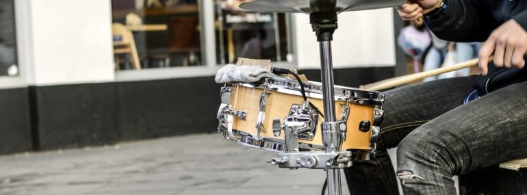 Music Busker Drum