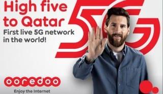 Ooredoo Qatar 5G Messi