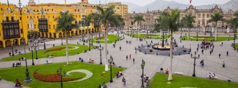 View_of_Plaza_de_Armas_Lima Peru
