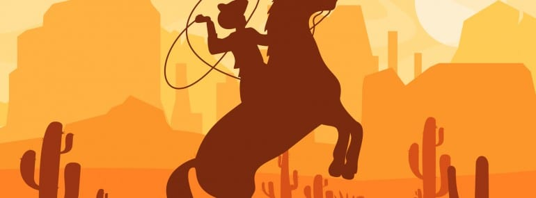 Wild West Frontier Cowboy