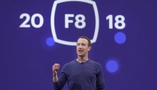 Zuckerberg Facebook F8
