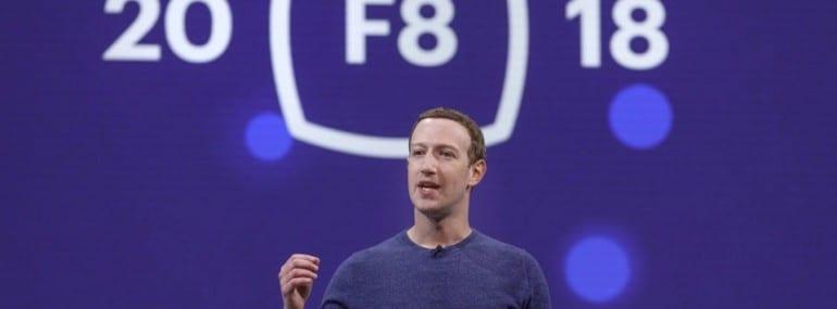 Zuckerberg Facebook F8