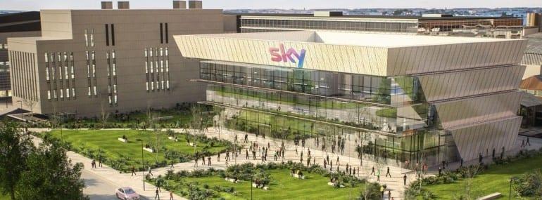Sky office render