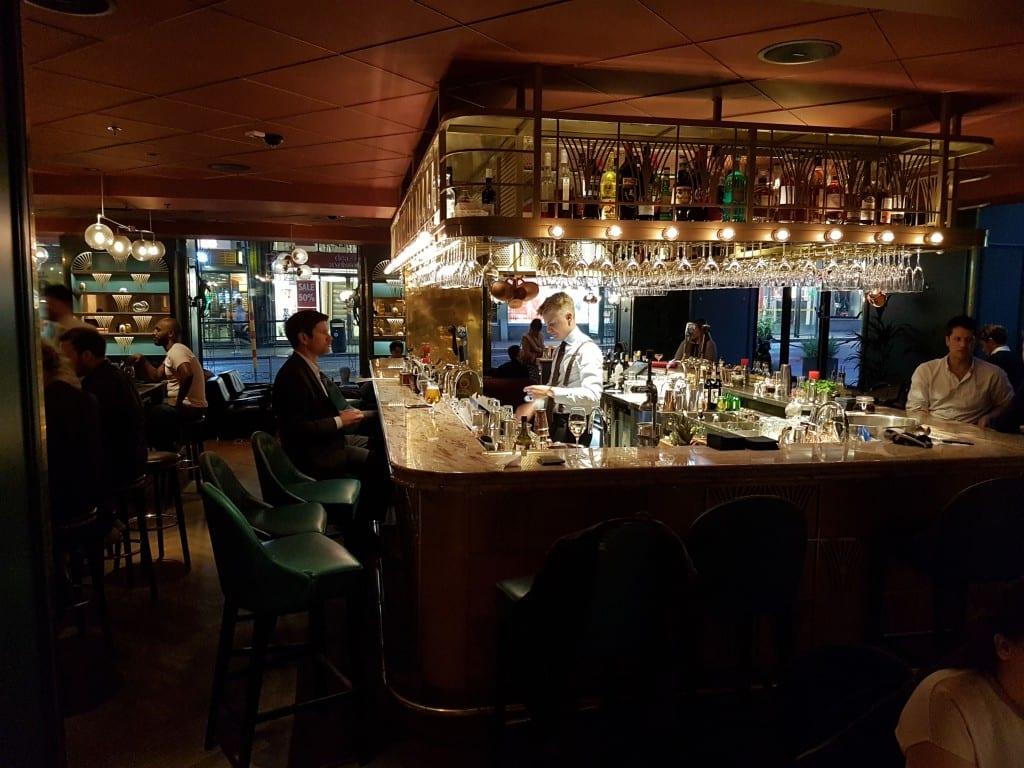 Ericsson tour bar