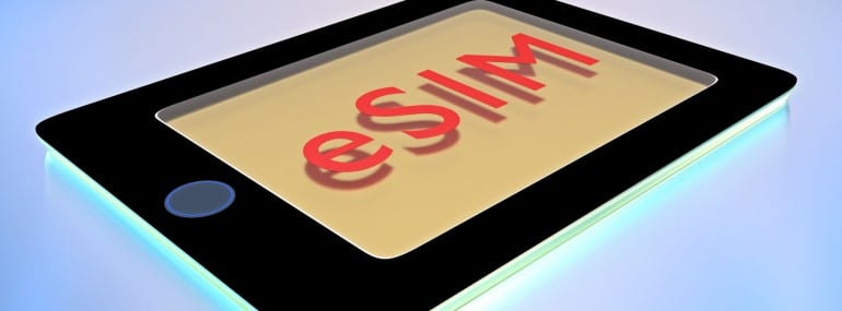 eSIM card - New generation of SIM cards
