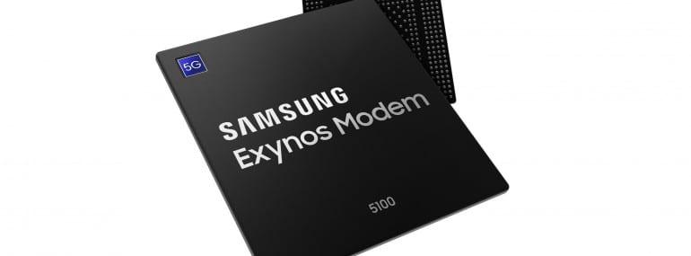 Samsung Exynos 5100 5G modem