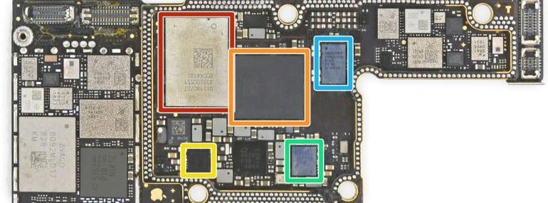 ifixit iphonexs board