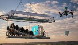 EE 4G cinema crane