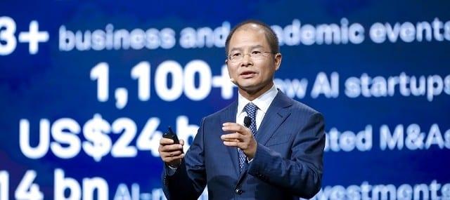 Huawei Rotating CEO Eric Xu