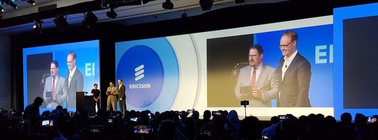 Qualcomm HK event Ericsson