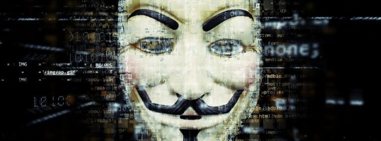 Anonymous Popular Group We Are Legion Hacktivist