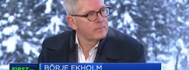 Ekholm Davos CNBC