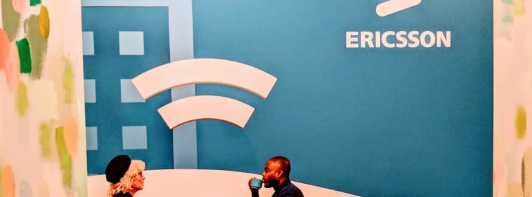 Ericsson 2019 MWC event banner