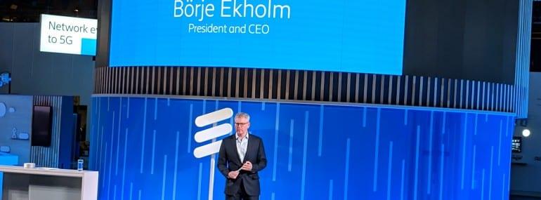 Ericsson Ekholm MWC 19