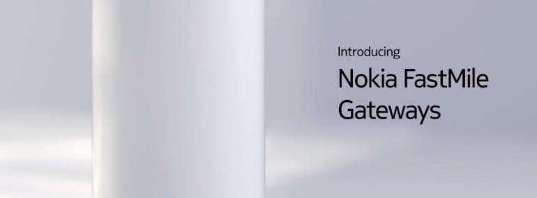 Nokia fastmile 5g gateway