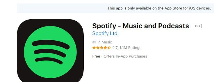 Spotify accuses Apple of discriminating against it in the App Store