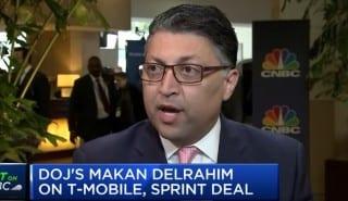 DoJ Deldrahim on T-Mobile Sprint deal 29042019