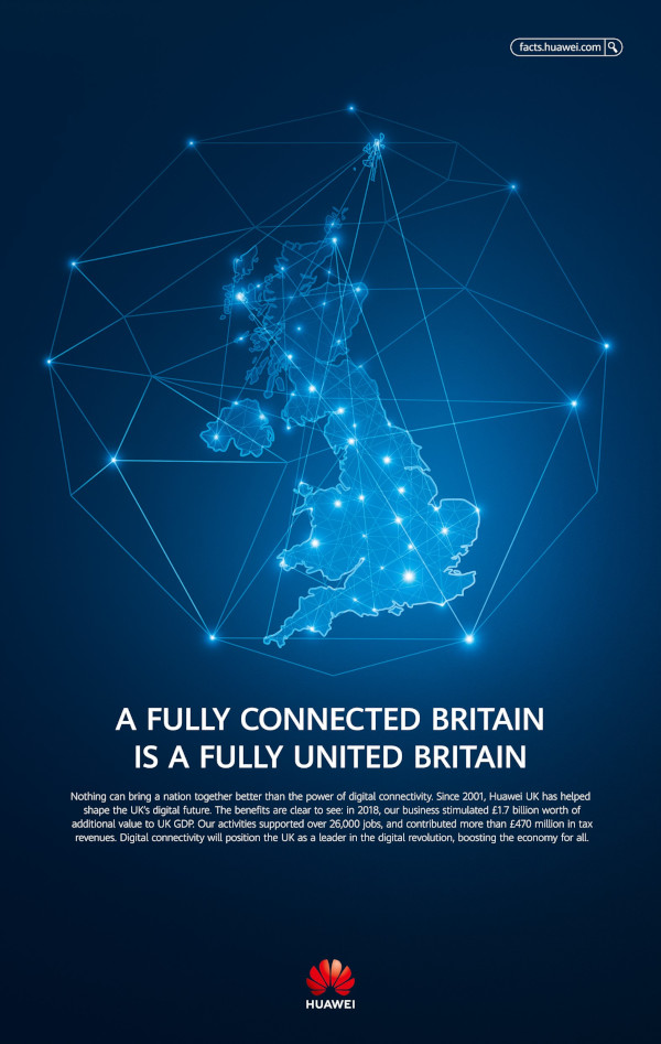 Huawei UK ad small