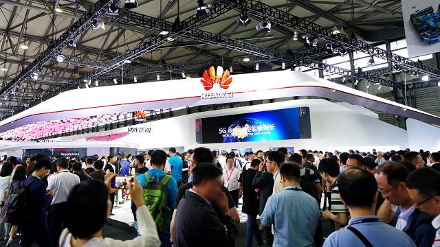 Huawei booth MWC Shanghai 2019