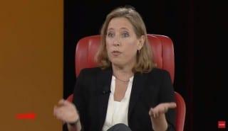 Youtube CEO Wojcicki code screen