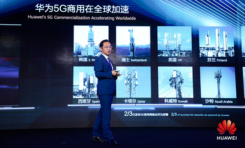 Huawei 5G industries 20190701