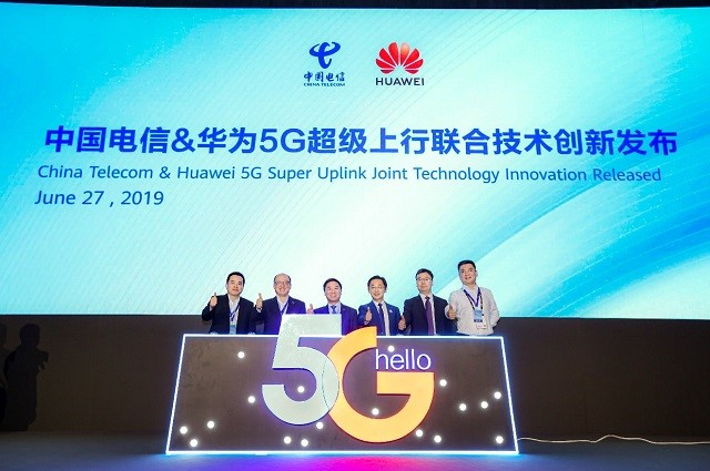 Huawei China Telecom 5G uplink 20190701