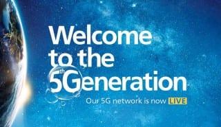 O2 UK 5G launch