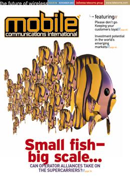Small fish - big scale...