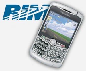 BlackBerry in motion
