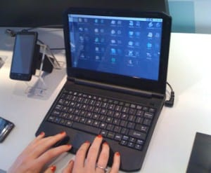 The Quanta built Android-powered smartbook prototype