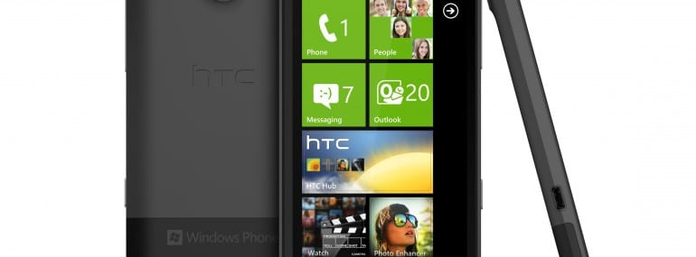 The Titan is HTC's flagship WP7 Mango handset