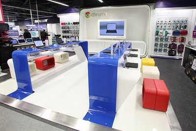 Google has opened its Chrome Zone retail store in a London PC World