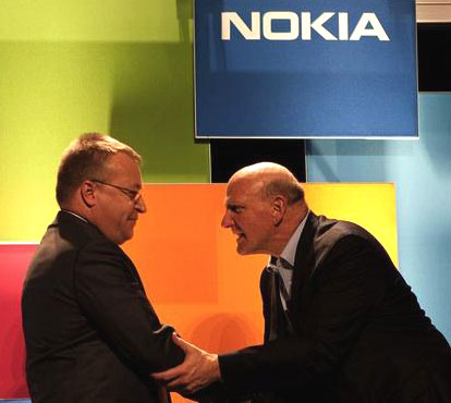 Nokia could soon be forced to sell parts of its business, according to Saadi