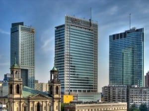 Poland's capital city, Warsaw