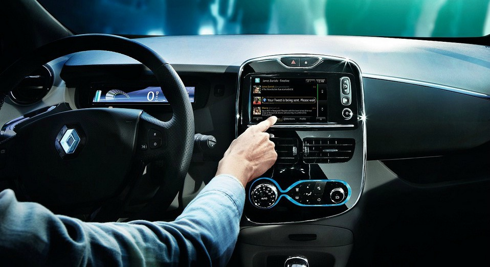 Orange Helps Renault Develop LTE Apps For Cars Telecomscom - In car