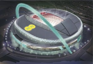 EE has announced a six-year partnership with Wembley Stadium