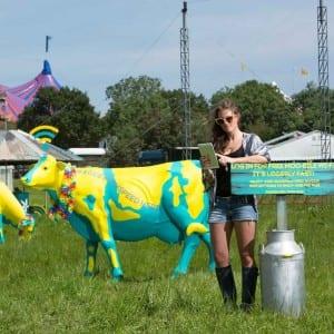 A wireless cow