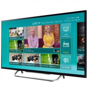 EETV homescreen