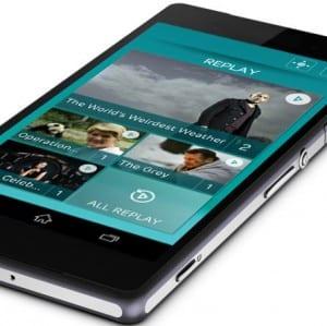 EE TV - Mobile UI