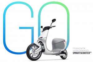 The Gogoro is apparently the world's first smartscooter