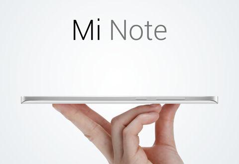 Xiaomi Mi Note marketing