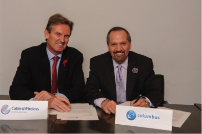 Columbus and CWC sign deal